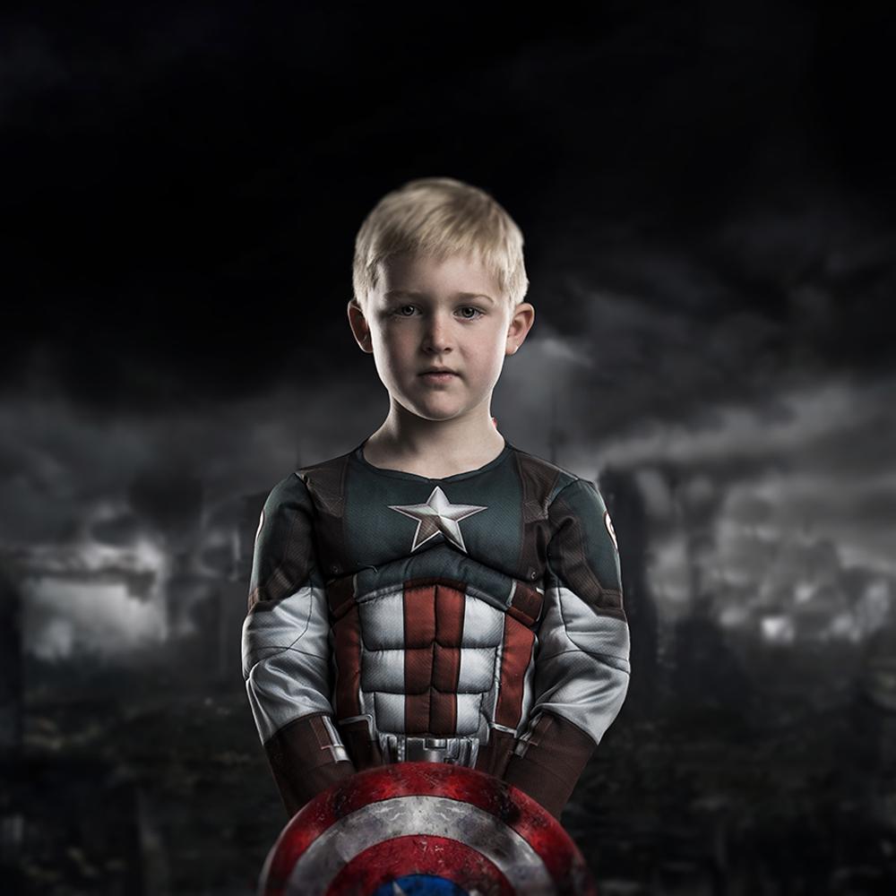 Super Hero portrait